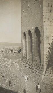 'Tour des Demoiselles' (Syria), by Lady Evelyn Hilda Stuart Moyne (née Erskine) - NPG Ax183207