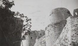Krak des Chevaliers, Syria, by Lady Evelyn Hilda Stuart Moyne (née Erskine) - NPG Ax183215