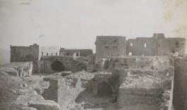 Krak des Chevaliers, Syria, by Lady Evelyn Hilda Stuart Moyne (née Erskine) - NPG Ax183216
