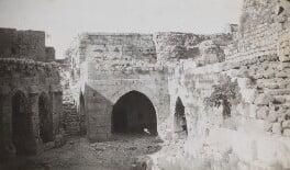 Krak des Chevaliers, Syria, by Lady Evelyn Hilda Stuart Moyne (née Erskine) - NPG Ax183217