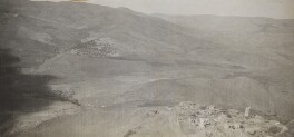 Krak des Chevaliers, Syria, by Lady Evelyn Hilda Stuart Moyne (née Erskine) - NPG Ax183218