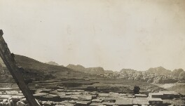 'On the way to Petra' (The Wadi Musa, Jordan), by Lady Evelyn Hilda Stuart Moyne (née Erskine) - NPG Ax183263