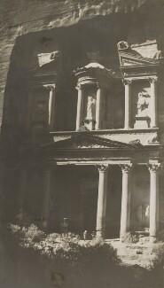 'The Treasure Chamber' (Petra), by Lady Evelyn Hilda Stuart Moyne (née Erskine) - NPG Ax183267