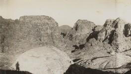 Petra, Jordan, by Lady Evelyn Hilda Stuart Moyne (née Erskine) - NPG Ax183270
