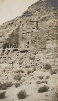 Petra, Jordan, by Lady Evelyn Hilda Stuart Moyne (née Erskine) - NPG Ax183271