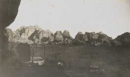 'The Camp' (Petra, Jordan), by Lady Evelyn Hilda Stuart Moyne (née Erskine) - NPG Ax183273