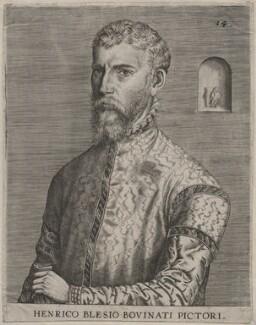 Hendrik Met de Bles, attributed to Johan Wierix, 1572 - NPG D46188 - © National Portrait Gallery, London
