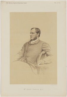 Henry Chaplin, printed by Vincent Brooks, Day & Son - NPG D46128