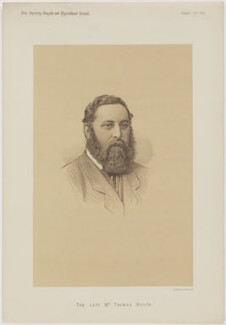 Thomas Christopher Booth, printed by Vincent Brooks, Day & Son - NPG D46134