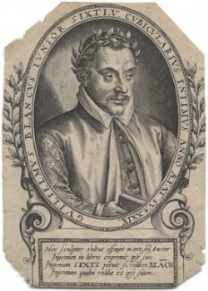 Guillaume Leblanc, by Thomas de Leu - NPG D46190