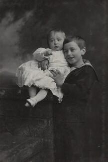 Louis Mountbatten, Earl Mountbatten of Burma; George Mountbatten, 2nd Marquess of Milford Haven, by Lafayette - NPG Ax26450