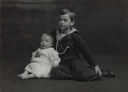Louis Mountbatten, Earl Mountbatten of Burma; George Mountbatten, 2nd Marquess of Milford Haven, by Lafayette - NPG Ax29365