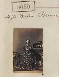 Ann Dudin Brown, by Camille Silvy - NPG Ax55594