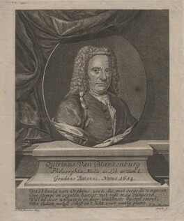 Quirinus van Blankenburg, by Ernst Ludwig Creite, after  Jacob Jan Nachenius - NPG D46192