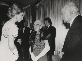 'Murder on the Orient Express' Premiere (Princess Anne; Agatha Christie; Sir Max Mallowan), by Syndication International Ltd - NPG x199292