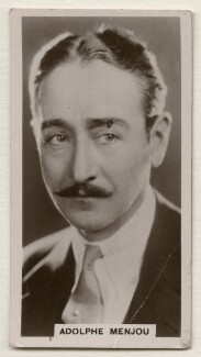 Adolphe Jean Menjou, published by J. Millhoff & Co Ltd - NPG x196365