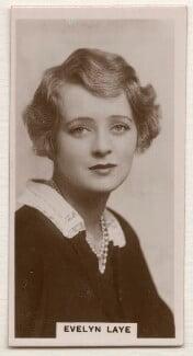(Elsie) Evelyn Laye, published by J. Millhoff & Co Ltd - NPG x196369
