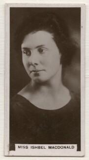 Ishbel Allan Peterkin (née MacDonald, later Ridgley), published by J. Millhoff & Co Ltd - NPG x196382