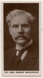 Ramsay MacDonald, published by J. Millhoff & Co Ltd - NPG x196383