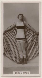 Binnie Hale (Beatrice Hale-Monro), published by J. Millhoff & Co Ltd - NPG x196387
