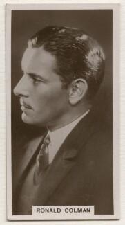 Ronald Charles Colman, published by J. Millhoff & Co Ltd - NPG x196398