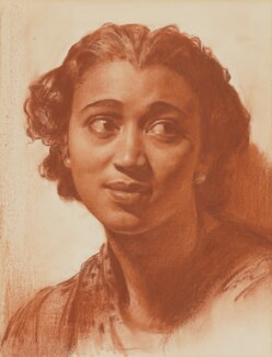 Elisabeth Welch, by Gerald Leslie Brockhurst - NPG 7004