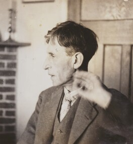 Leonard Sidney Woolf, by Barbara Strachey - NPG Ax160975