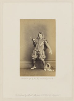 John Baldwin Buckstone as Sir Andrew Aguecheek in 'Twelfth Night', by John Jabez Edwin Mayall - NPG Ax27683