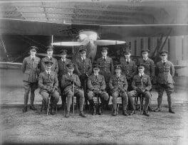 Royal Air Force No. 12 Squadron officers, by Bassano Ltd - NPG x158997