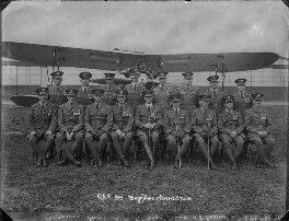 Royal Air Force No. 56 Fighter Squadron, by Bassano Ltd - NPG x158998
