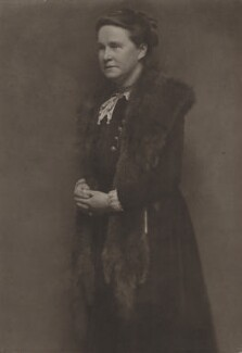 Dame Millicent Fawcett, by Lizzie Caswall Smith - NPG x199301