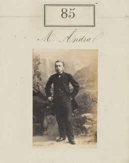 Monsieur Andra, by Camille Silvy - NPG Ax50068