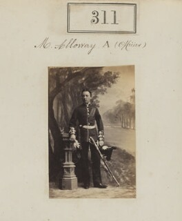 Mr Alloway, by Camille Silvy - NPG Ax50089