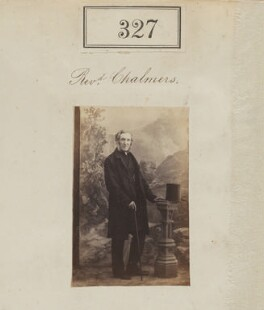 Reverend Chalmers, by Camille Silvy - NPG Ax50099