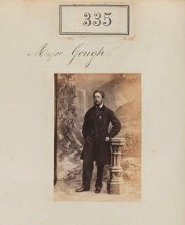 Major Gough, by Camille Silvy - NPG Ax50107