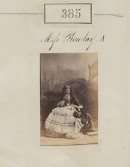 Florence Grosvenor (née Rowley), Marchioness of Waterford, by Camille Silvy - NPG Ax50141