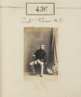 'Captain Palmer M.P.' (probably Sir Roger William Henry Palmer, 5th Bt), by Camille Silvy - NPG Ax50177