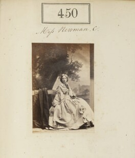 Miss Newman, by Camille Silvy - NPG Ax50188