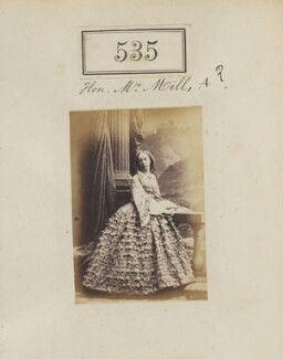 Miss Arundell, by Camille Silvy - NPG Ax50234