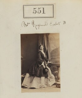 Possibly Anna Mary Elizabeth Corbet (née Grey-Egerton), by Camille Silvy - NPG Ax50245