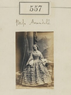 Miss Arundell, by Camille Silvy - NPG Ax50250