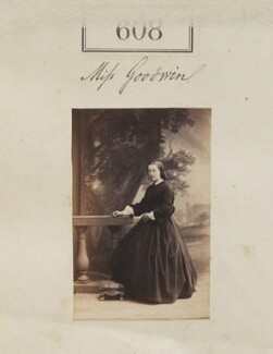 Miss Goodwin, by Camille Silvy - NPG Ax50280
