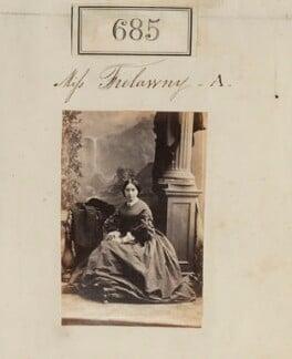 Hon. Maria Katherine Trelawney (née Walsh), by Camille Silvy - NPG Ax50333