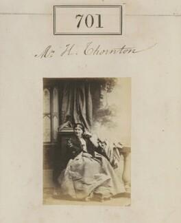 Mrs H. Thornton, by Camille Silvy - NPG Ax50345