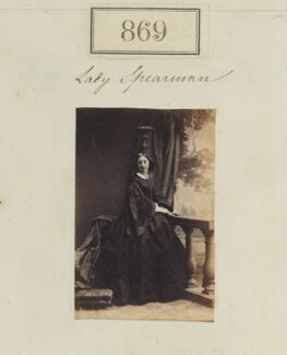 Possibly Lady Maria Louisa Spearman (née FitzMaurice), by Camille Silvy - NPG Ax50466