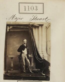 Major Stewart, by Camille Silvy - NPG Ax50599