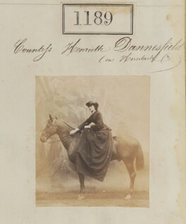 Possibly Countess Henrietta Louisa Elizabeth Danneskjold-Samsöe, by Camille Silvy - NPG Ax50641