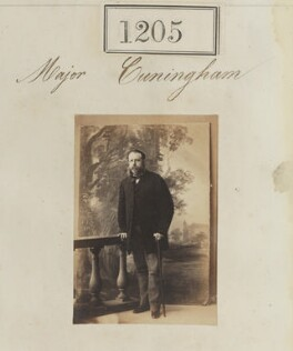 Major Cunningham, by Camille Silvy - NPG Ax50651