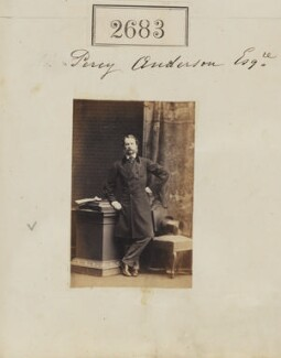 Sir Henry Percy Anderson, by Camille Silvy - NPG Ax52072