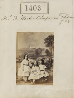 Children of Mrs D. Ward Chapman, by Camille Silvy - NPG Ax50804